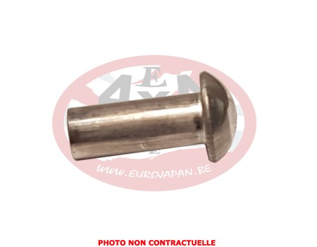 Rivet aluminium frapper 4x10mm pour fixation de l - Rivet a frapper ...
