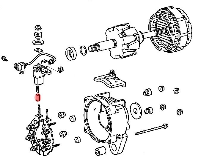 balai alternateur moteur b