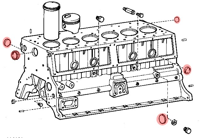 bouchon de bloc moteur diam u00e8tre 51mm pour toyota bj4